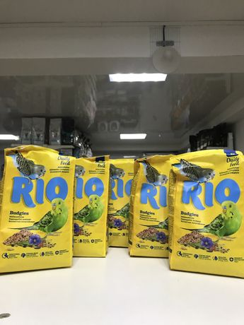 Корм для волнистых попугаев RIO