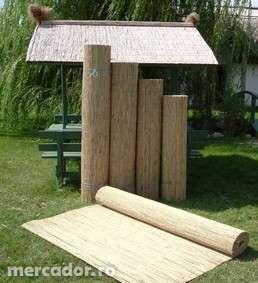 Rogojini din stuf / trestie, paravan,gard de calitate