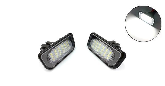 Set 2 Lampi Iluminare numar nr LED pentru Mercedes W203 W211 W219