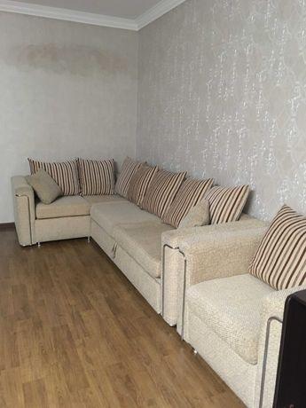 диван угловой с креслом Турция