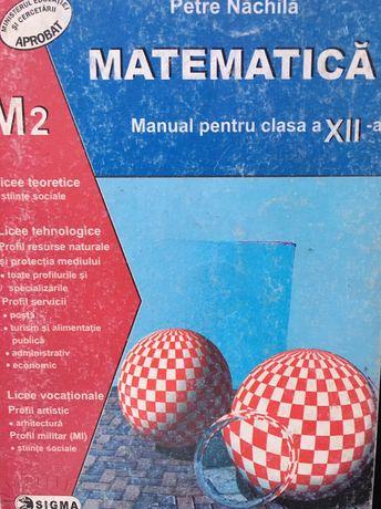 Manual matematică clasa a XII-a M2