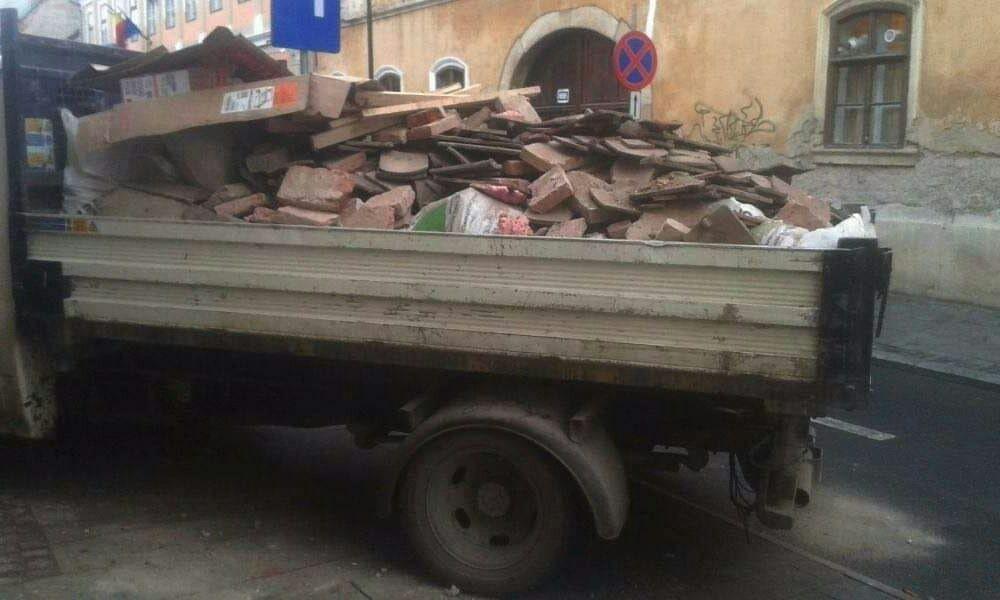 Transport moloz ieftin de la 40ron,mobila debarasari,demolari golirl Cluj-Napoca - imagine 1
