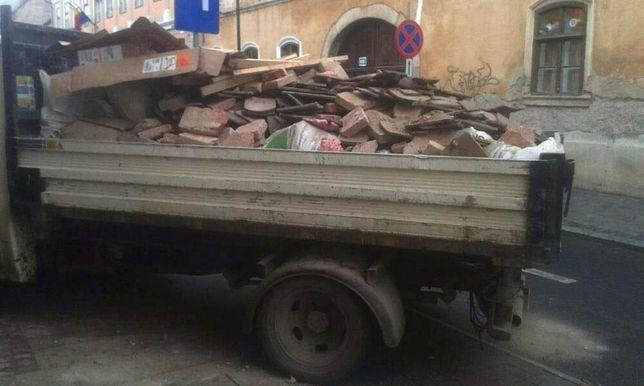 Transport moloz ieftin de la 40ron,mobila debarasari,demolari golirl