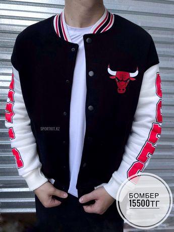Бомбер Chicago Bulls черные