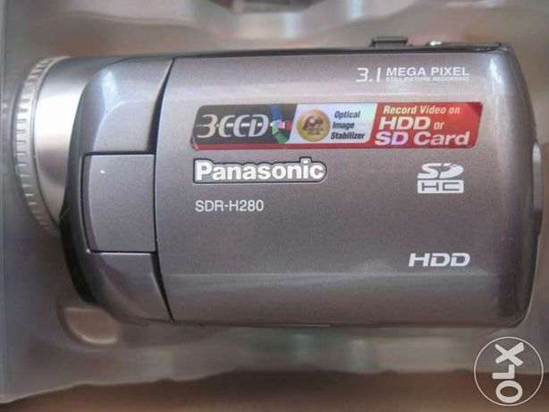 Camera video 3CCD Panasonic SDR-H280 -HDD30G