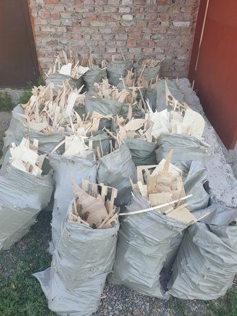 Фанера в мешках (отходы от производства)