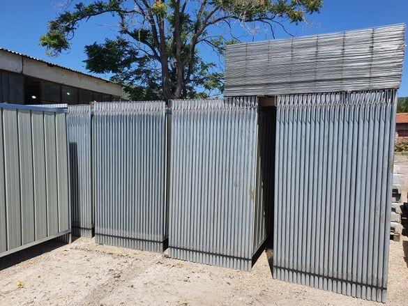 Италианска мобилна ограда за строителни обекти