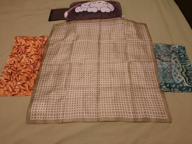 Cadou elegant și fin pentru doamne, eșarfă 100% mătase naturală, noua!