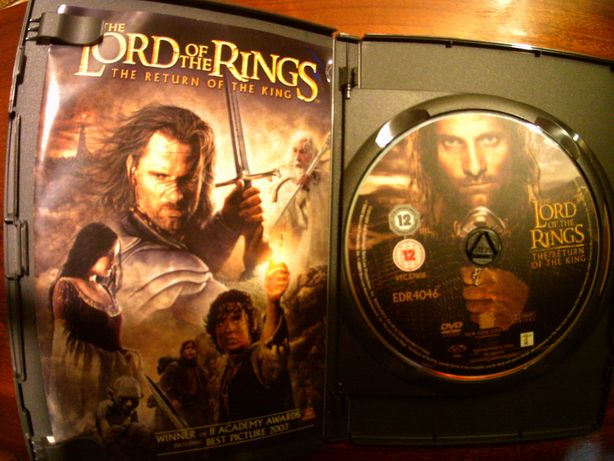 Dvd film Lord of the rings , Stapanul inelelor