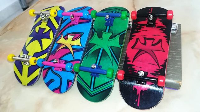 Fingerboard Profesional / Skateboard mic
