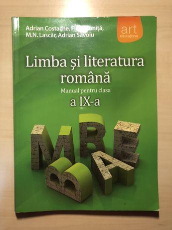 Manual Lb. Română pentru clasa a IX-a