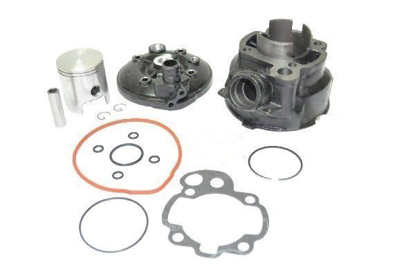 Set Motor Cilindru Scuter + Chiuloasa Complet Aprilia RS Am6 80-90cc