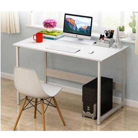 Masa birou pentru laptop, pc, sufragerie, dormitor, Alba, 100x45 x72