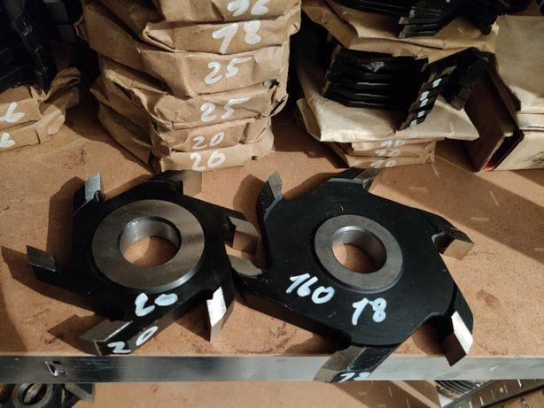 Freza dreapta falt fals uluc cu 4-6 cutite diametru 125-160-180-200 mm