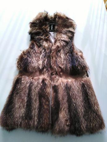 Дамски елек естествен косъм