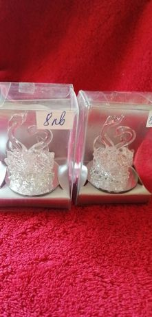 Колекция от стъклени лебеди и гълъби - подаръчета за всеки повод
