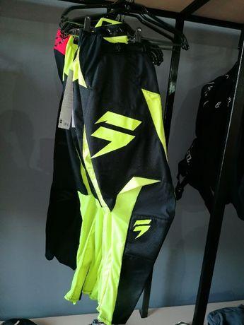Pantaloni Whit3 Shift Label Race [FLO YLW] Atv Moto Enduro