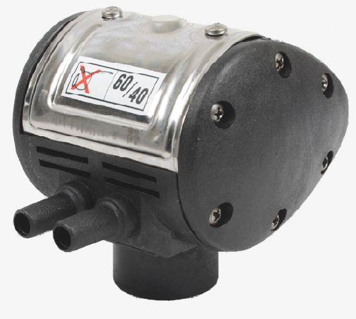 Pulsator pentru aparat de muls vaci (negru - 2 iesiri)