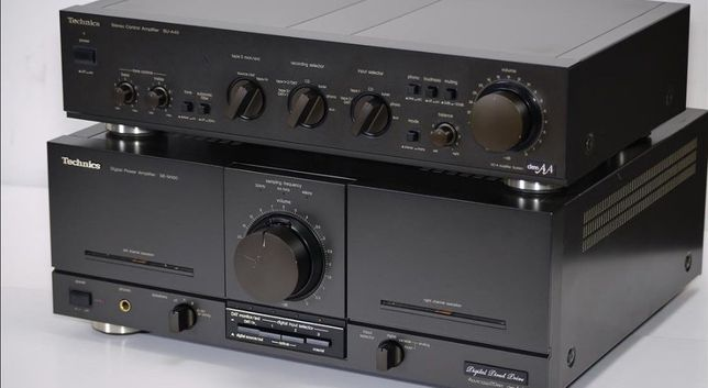 Technics SU-A40 Class AA Stereo DC Control Amplifier