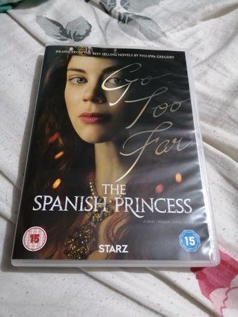 DVD Испанска принцеса 2 броя 1 и 2 част