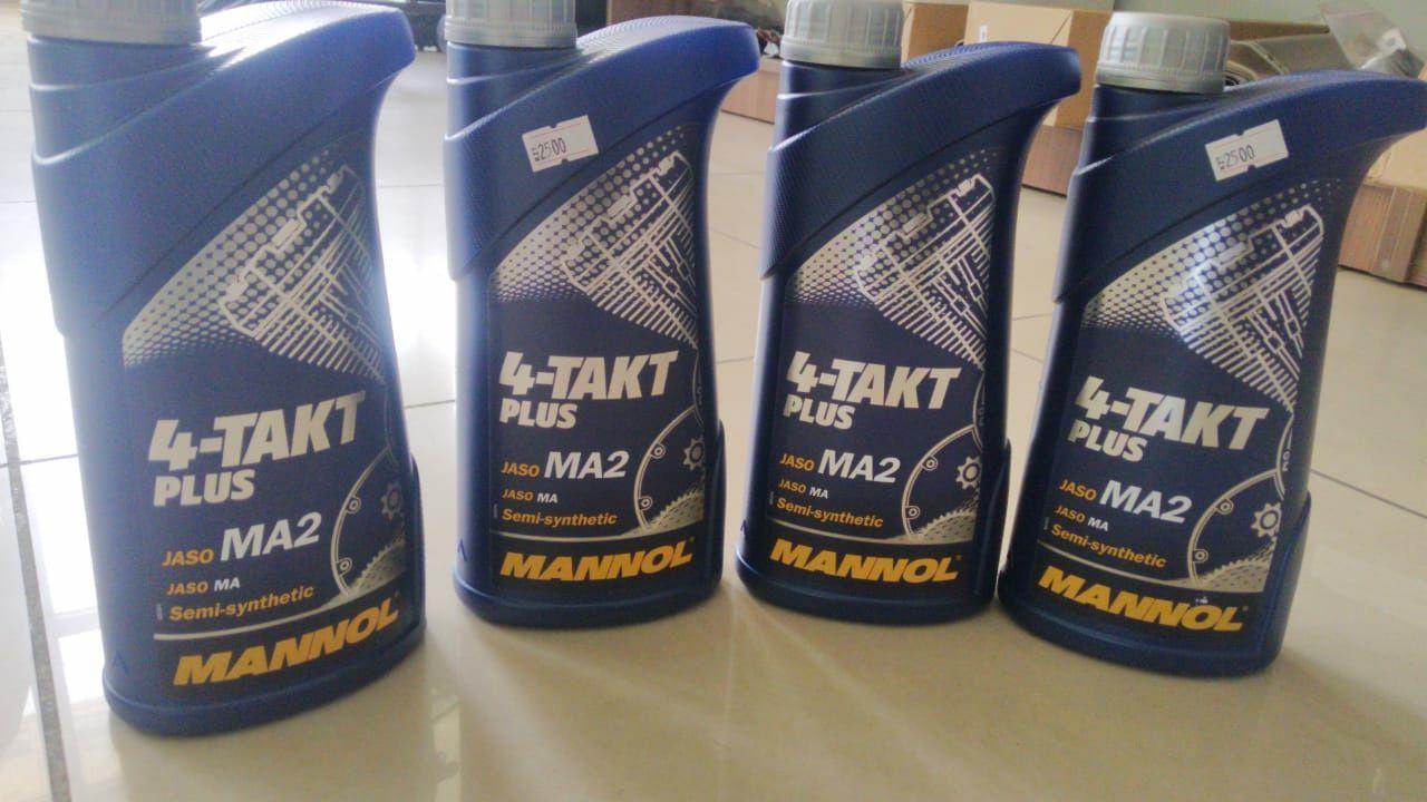 4-Тактное Масло MANNOL для Мототехники! Выбор масел большой 2Т и 4Т.