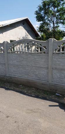 Gard beton, placi