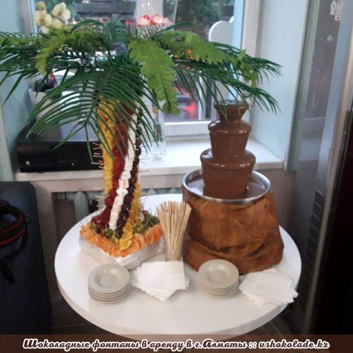 Шоколадный фонтан + Фруктовая пальма Алматы - изображение 1