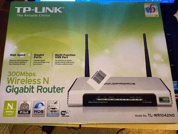 Router Wireless TP-LINK TL-WR1042ND