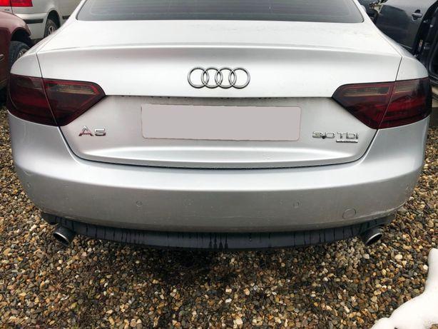 Capota portbagaj argintie Audi A5 Coupe din 2008