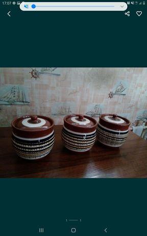 Продам глинянные горшочки