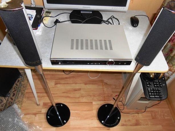 Усилитель Sony с 5 колонками, USB, WiFi и микрофон. входом