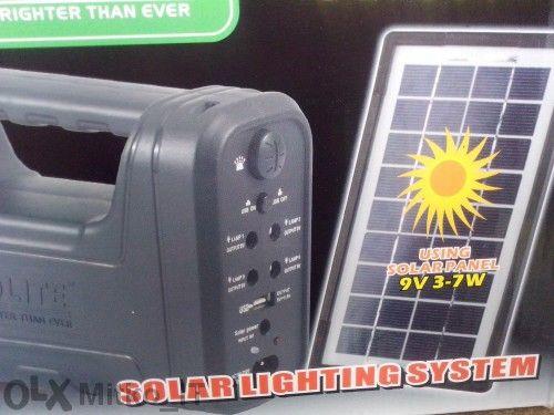 Соларна генераторна система за осветление - Gd-8007
