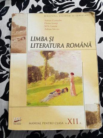 Manual Limba Romana clasa a XII-a