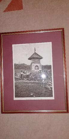 Tablou/fotografie veche Curtea de Arges - Fontaine du Maitre Manole