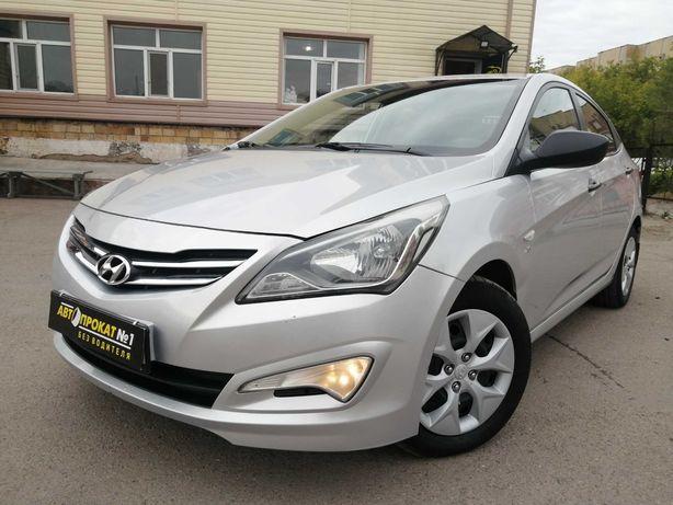 Hyundai Accent БЕЗ ВОДИТЕЛЯ. Прокат, аренда авто, автомобилей