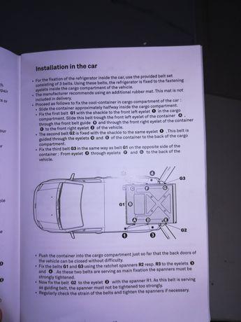 Lada frigorifica/Congelator auto.1200/1000 cm