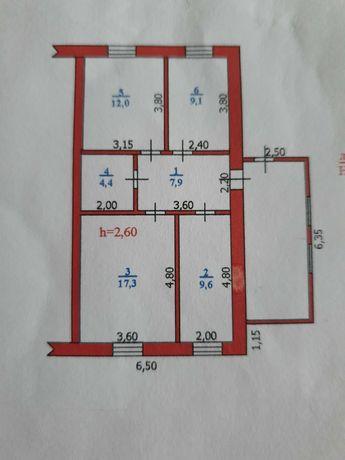 Половина частного дома в Подстепном, с приусадебным участком 11,5 сот
