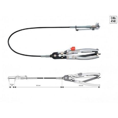 Cleste Yato pentru Coliere Furtun cu Cablu YT-0653
