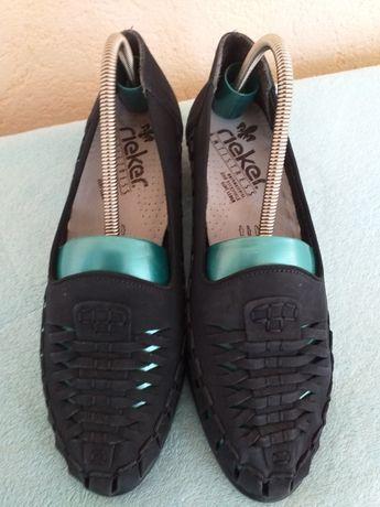 Pantofi noi Rieker piele nr 39
