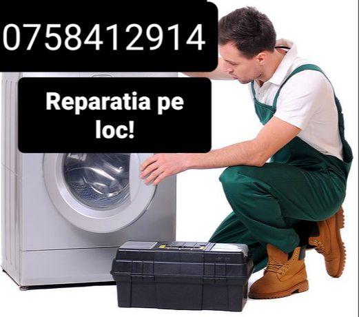 Reparatii masini de spalat la domiciliul tau