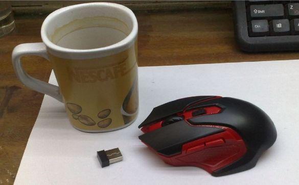 Геймърска мишка Mosunx 3200dpi