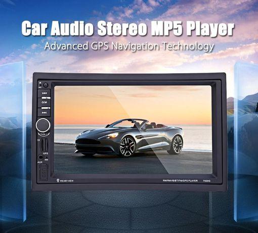 Navigatie Auto Casetofon Dvd Mp3 7 inch GPS Harti IGO MirrorLink 2Din