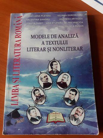 Modele de analiza a textului literar si nonliterar
