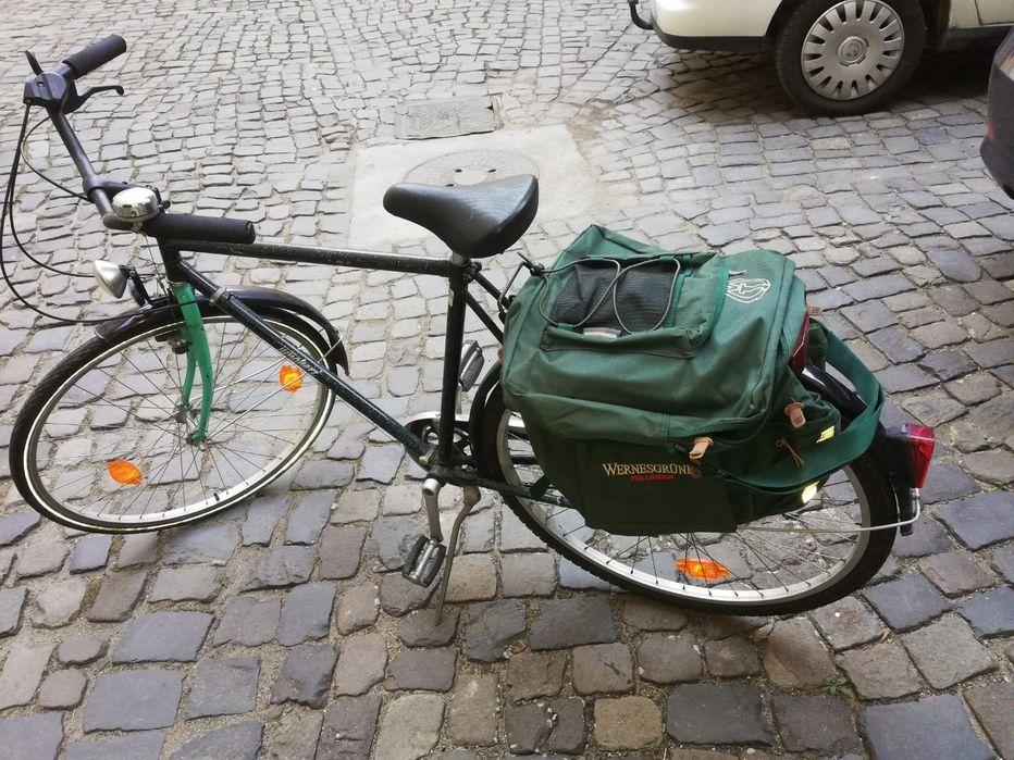 Bicicleta cu schimbător în butuc stare buna de funcționare cu geanta p Timisoara - imagine 1