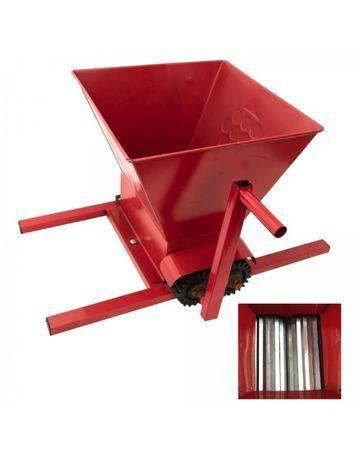 Zdrobitor de struguri manual, role zdrobire din aluminiu
