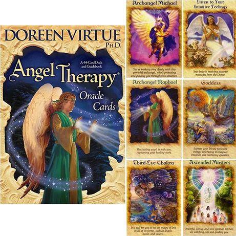 Angel Therapy-Carti Oracol/Tarot,TERAPIE INGERI-ed lim-Doreen Virtue-S