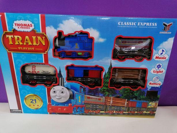 Tren Thomas cu vagoane ,cu șine,produs nou