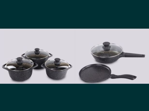 Набор каменный посуды