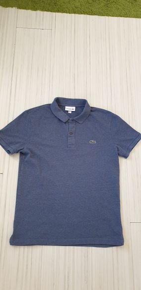 Lacoste Pique Slim Fit Mens Size 4 - М 100% ОРИГИНАЛ! Мъжка тениска!