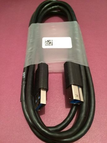 Cablu nou DELL, USB 3.0 A-B lungime 1.8m - 14,99 lei (imprimanta, etc)